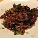 Garlic Beef Soba Noodles