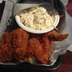 Fried chicken bucket at Sea Hag, St. Pete Beach
