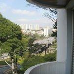 Vista del centro comercial de Sao Bernardo.