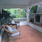Fireplace Outside Honeymoon Suite