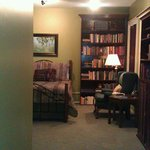 View of Library suite from bathroom