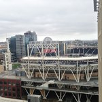 View of Petco Park, from the 18th floor