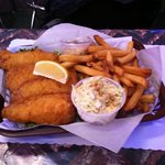 Cameron's fish and chips!