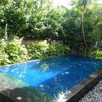 Private pool in 3-bed villa