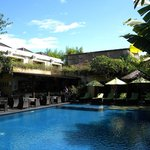 Hotel Pool/Restaurant