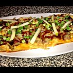 Pulled Pork Flatbread Pizza