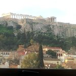 Acropolis as taken  while laying in bed