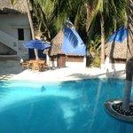 la piscine de l'hotel Nude.