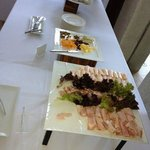 hardly an impressive buffet spread for a 5* hotel with 5* prices...