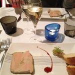 Entrée foie gras