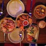 pad thai, prawn toast, curry