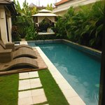 view from door of master suite 3 bed villa 10