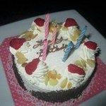 Geburtstagstorte vom Personal