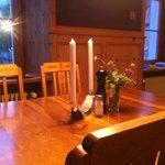 Der Speisesaal.