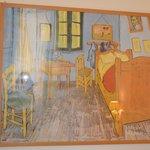 Van Gogh Painting in our room :)