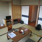 部屋は清潔で、くつろげました。