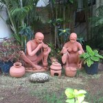 traditional goan statues