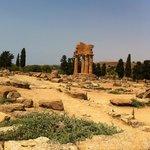 around the Zeus temple