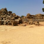 panoramic view of the ruins