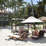 Luxe strandbedden (incl. bij Buttler-service)