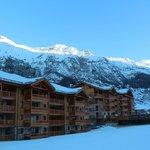 Les Flambeaux + piste ski