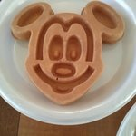 Mickey Mouse Waffle!