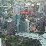 View of Traders Hotel from Petronas Twin Towers