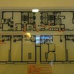 Floor layout 30th floor
