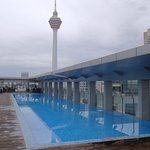 Roof top pool and tower