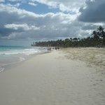 marches sur la plage