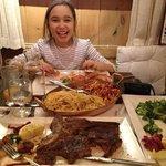 huge portions!