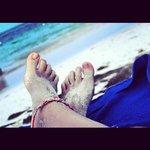 playa de aguas turquesas