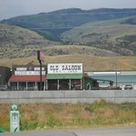 strip where saloon is located (it faces the Absaroka Mountains... beautiful)