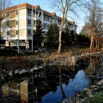 Mill Creek Hotel in Lake Geneva in the Fall