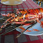 The lobster shell
