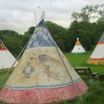 Some of the Tipis