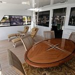 Aft deck with BBQ