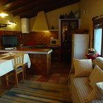 Casa rural El Corra, cocina