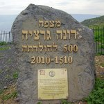 Dona Gracia memorial stone observation established view that what Tiberias marking five hundred