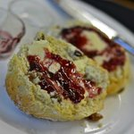 More scones, jammed up and ready for tasting :-)
