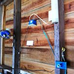 Electrical Setup Inside Cabana:  Fan, Light, & 12 volt (cigarette lighter) out