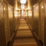 The corridor at The Madison Hotel!!