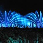 Multi-sensory performances water on the lake