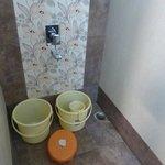 salle d'eau (eau partout)