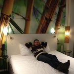 Room in conscious hotel, vondelpark