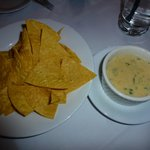 Aqua Sol Tortilla Chips with cheese dip 2013