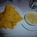 Aqua Sol Tortilla Chips with cheese dip 2013