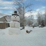 Local snowman