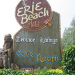 Erie Beach Hotel Terrace Room Lounge Foto