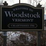 Entering woodstock